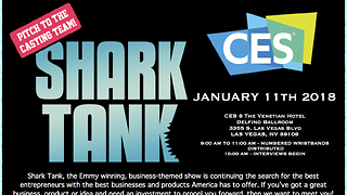 Shark Tank coming to CES Jan. 11 - Video