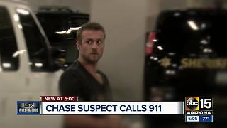 911 call of DPS pursuit suspect released - Video