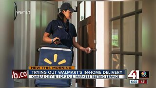 Walmart tests in-home grocery delivery in Kansas City
