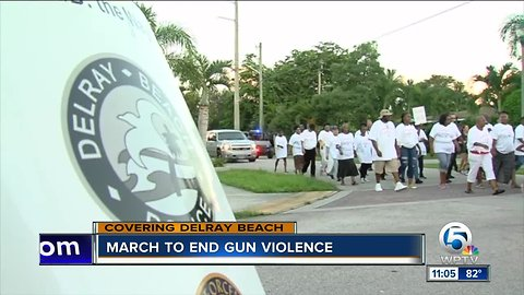 March to end gun violence in Delray Beach