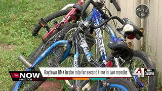 Thieves steal from Raytown BMX track - Video