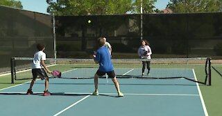 New pickleball courts in Las Vegas