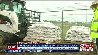 Keystone Dam to release water today