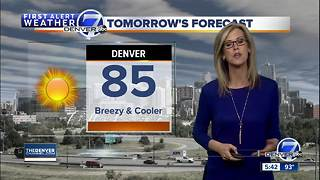Denver cool down ahead