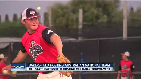 Aussie national team takes over at CSUB
