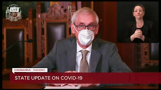 'Enough games': Gov. Evers extends mask mandate, issues new state of emergency