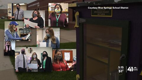 Blue Springs teachers surprised with mini grants