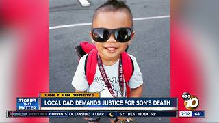 Local dad demands justice for son's death - Video