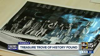 Treasure trove of history found at Phoenix mall