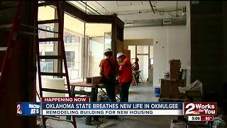 New OSUIT student lofts coming to Downtown Okmulgee, opening in January - Video