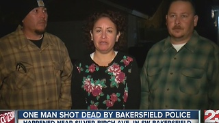 73-year-old man shot by Bakersfield police in Southwest Bakersfield - Video