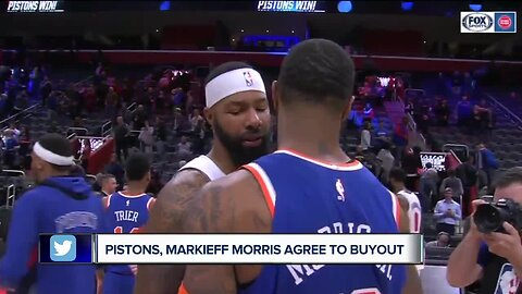 Pistons buy out Markieff Morris' contract
