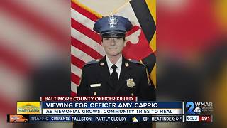 Road closed Thursday for Officer Caprio viewings - Video