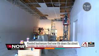 Local bar to reopen after devastating flood - Video