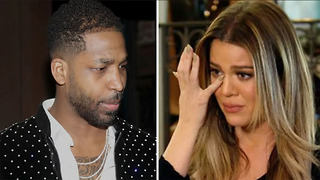 Tristan Thompson ABANDONS Khloe Kardashian In Cleveland! - Video