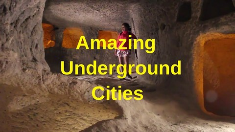Adventurers explore Turkey's underground hidden cities