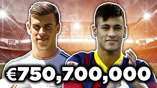 Most Expensive Footballers XI | Ronaldo, Bale & Buffon! - Video