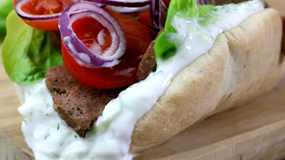 How to make a gyro-styled sandwich