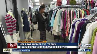 High school students can shop for free at local boutique - Video