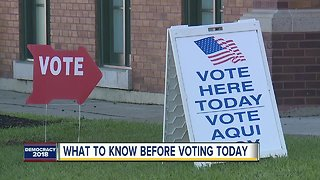 What to know before voting today