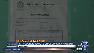 Denver safe occupancy program - Video