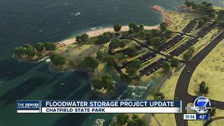 Changes at Chatfield State Park during work on Reallocation Project - Video