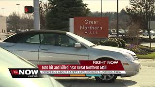 North Olmsted man hit, killed crossing the street near Great Northern Mall - Video