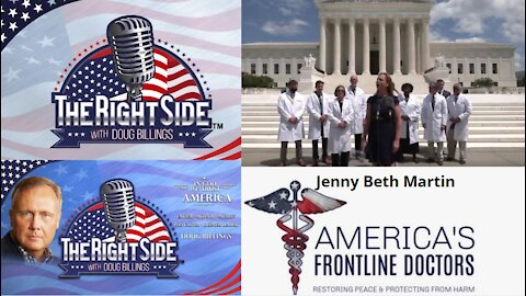 Jenny Beth Martin Interview: Frontline Doctors and CoVid19