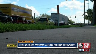 Pinellas County considers sales tax for road improvements