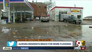 Aurora, Indiana residents brace for more flooding on Ohio River