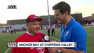 Anchor Bay set to face Chippewa Valley in regular season finale - Video