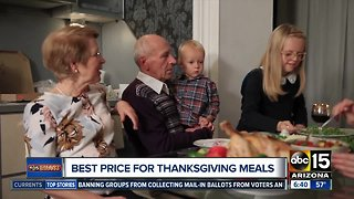 Bests deals on Thanksgiving prepared meals