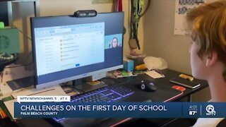 Some Palm Beach County students unable to access to distance learning portal