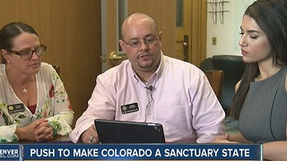 Colorado representative wants to make it a 'sanctuary state' - Video
