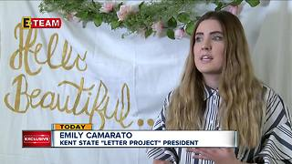 """Kent State starts """"Letter Project"""""""