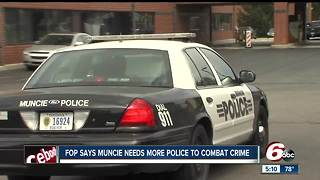 More police officers needed in Muncie, says Fraternal Order of Police - Video