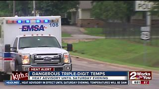 EMSA responded to 17 heat-related calls this week