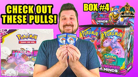Unified Minds Booster Case (Box 4) | Mewtwo & Mew Hunting | Pokemon Opening