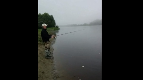Fishing in Siberia: You won't expect this!