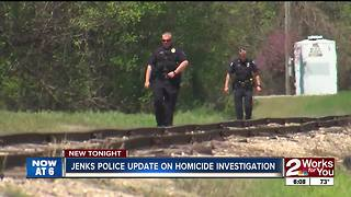 Jenks Police update on homicide investigation - Video