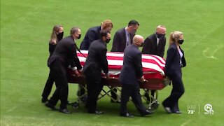 Memorial service held for FBI special agent killed in Sunrise shooting