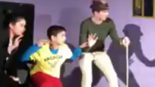 Stage Fails: Teen Bank Robbery Play Gone Wrong - Video