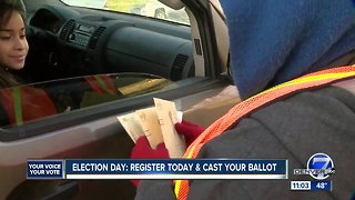 11 a.m. at Arvada polling location