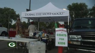 Annual Packers Coats for Kids kicks off at Lambeau Field - Video