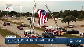 Local community remembers Bayshore volunteer firefighter