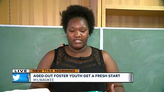 AGED-OUT FOSTER YOUTH GET A FRESH START