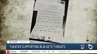 Chula Vista theater supporting BLM gets threats