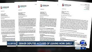Denver Sheriff Department suspends 3 deputies, sergeant over time card fraud - Video