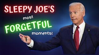 Joe Biden's Most Unforgettably Forgetful Moments - Compilation!