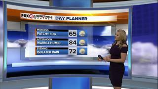 Mostly Dry Wednesday, Rain for Thanksgiving
